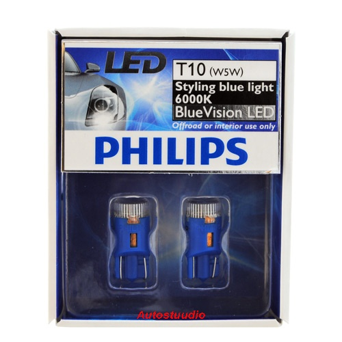 LED lamp T10 (W5W) Blue Vision