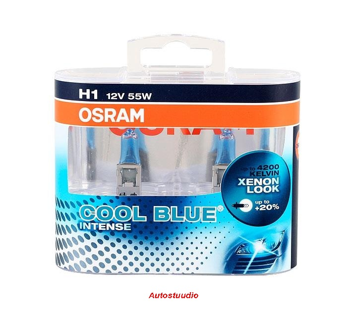 OSRAM H1 12V 55W Cool Blue Intense Duo